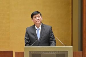 Bộ trưởng Y tế trong danh sách dự kiến trả lời chất vấn trước Quốc hội