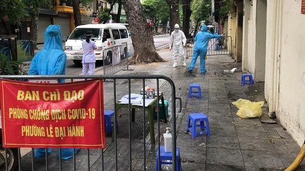 Sáng 1-8, Hà Nội công bố 45 ca Covid-19 mới, 38 ca phát hiện tại cộng đồng