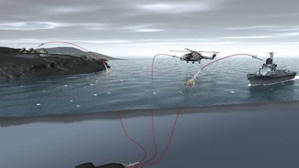 [ẢNH] Tàu ngầm Nga như 'cá mập mọc thêm cánh' khi bổ sung tên lửa phòng không