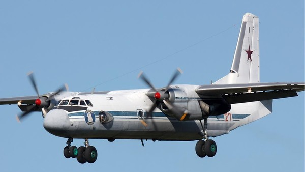Nga tìm thấy một số mảnh vỡ máy bay An-26 bị mất tích