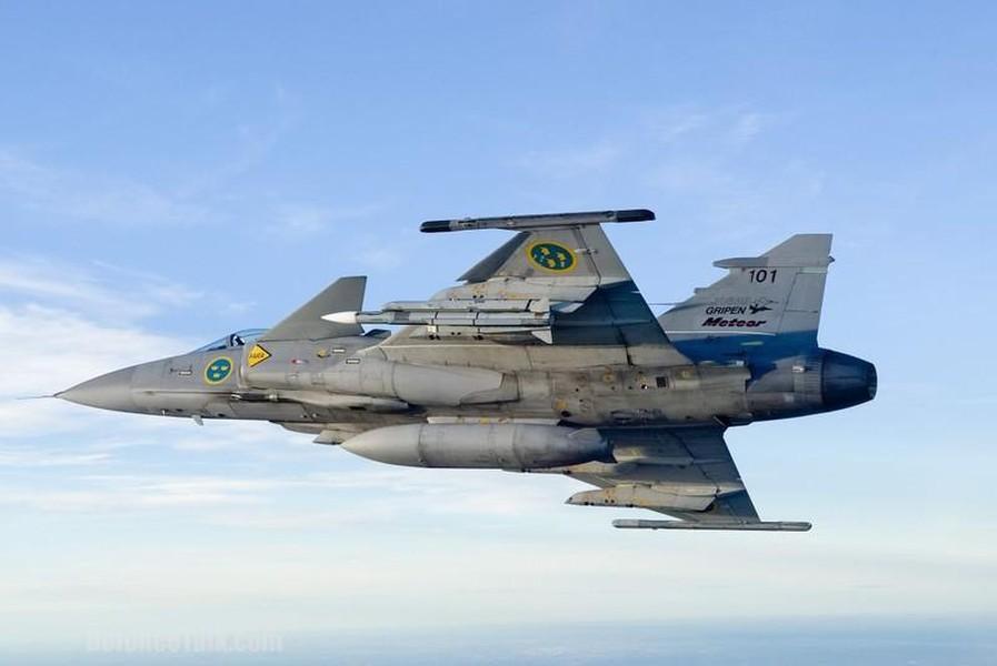 Saab Gripen with Meteor AAM