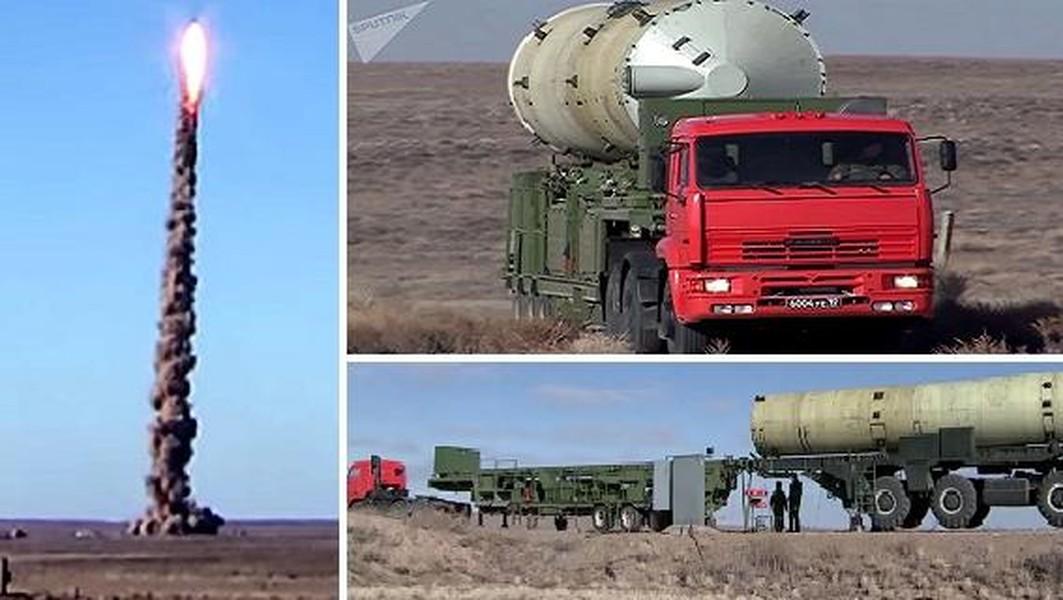 A-235 Nudol anti ballistic missile system