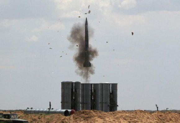 Test fire of 40N6 missile