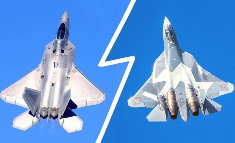 F-22 Raptor and Su-57 Felon