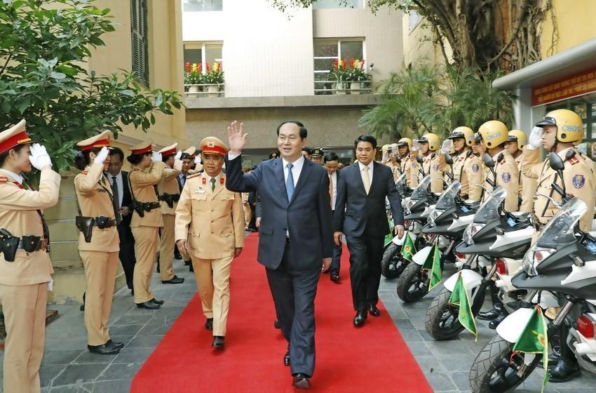 Chủ tịch nước Trần Đại Quang: Làm hết sức mình phục vụ Tổ quốc, phục vụ nhân dân ảnh 2
