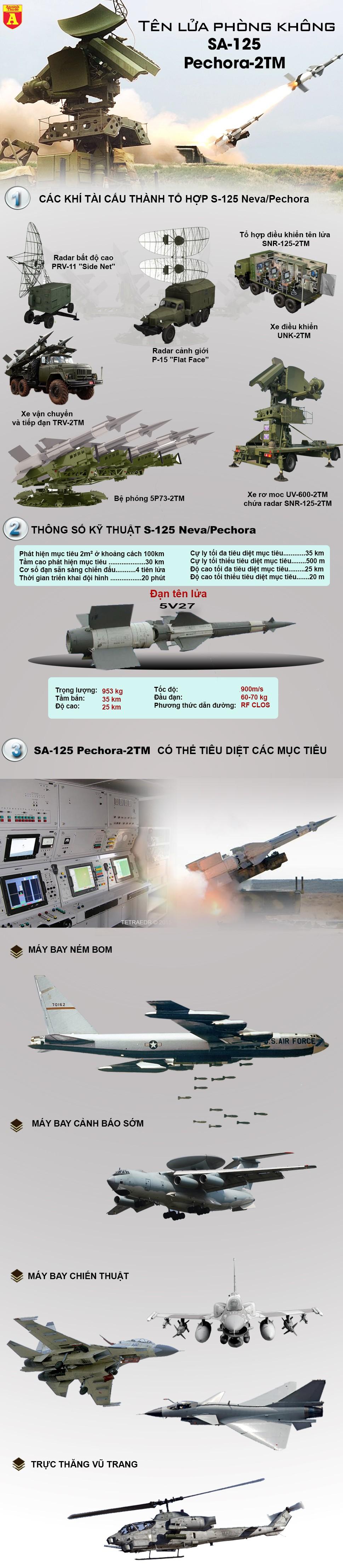 """[Infographic] """"Rồng lửa"""" SAM 3 từng bắn hạ chiến đấu cơ tàng hình, được tham gia bảo vệ APEC ảnh 2"""