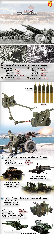[Infographic] Loại pháo chủ lực giúp Việt Nam thắng Pháp tại Điện Biên Phủ lại do Mỹ sản xuất ảnh 2
