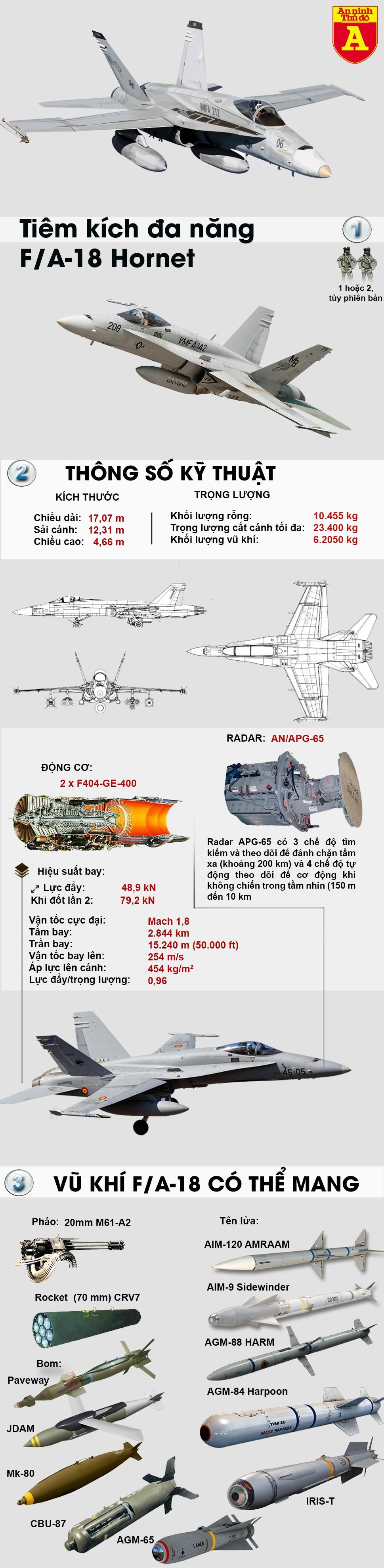 [Infographic] Siêu tiêm kích F/A-18 Hornet sản xuất bằng công nghệ in 3D lần đầu tiên cất cánh ảnh 2
