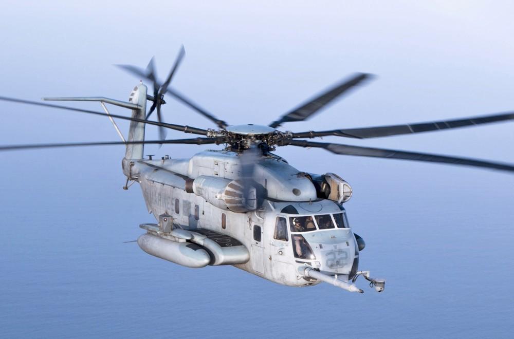 """[Infographic] """"Rồng biển"""" MH-53E của hải quân Mỹ tới Việt Nam ảnh 1"""