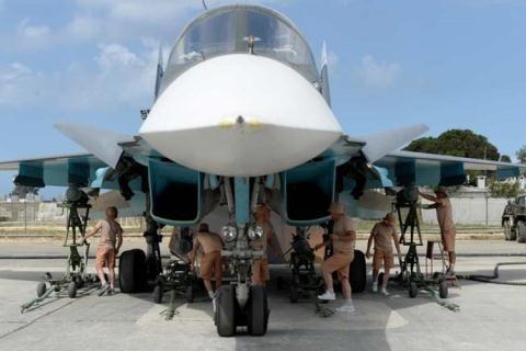 """[ĐỒ HỌA] """"Xe tăng bay"""" Su-34 vụt trở thành """"ngôi sao"""" tại chiến địa Syria ảnh 2"""