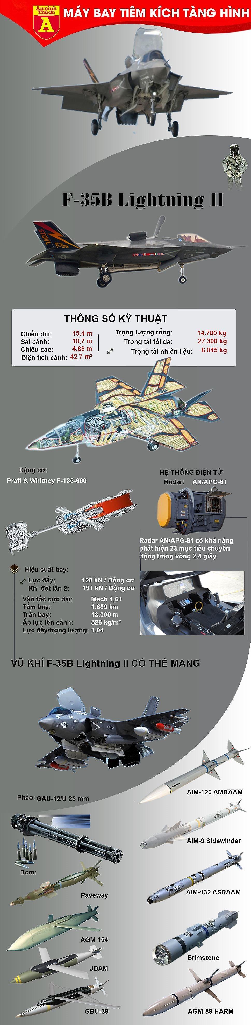 [ĐỒ HỌA] Mỹ xót xa loại biên siêu tiêm kích tàng hình F-35B khi chưa một lần xung trận ảnh 4