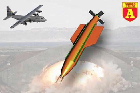 """[ĐỒ HỌA] Câu trả lời của Mỹ trước """"cha của các loại bom"""" từ Nga ảnh 2"""