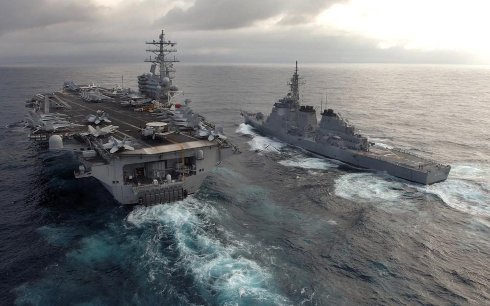 [ĐỒ HỌA] Bắc Kinh lo lắng khi siêu hàng không mẫu hạm Mỹ chuẩn bị tiến vào biển Đông ảnh 1