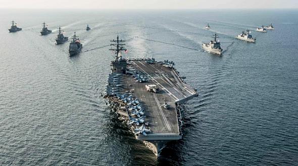 [ĐỒ HỌA] Bắc Kinh lo lắng khi siêu hàng không mẫu hạm Mỹ chuẩn bị tiến vào biển Đông ảnh 3