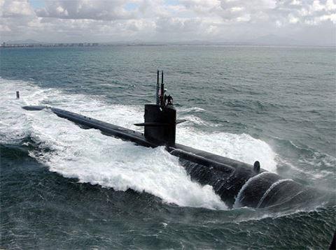"""[ĐỒ HỌA] Khi siêu tàu ngầm hạt nhân do thám Mỹ được trang bị """"Sứ giả chiến tranh"""" Tomahawk ảnh 1"""