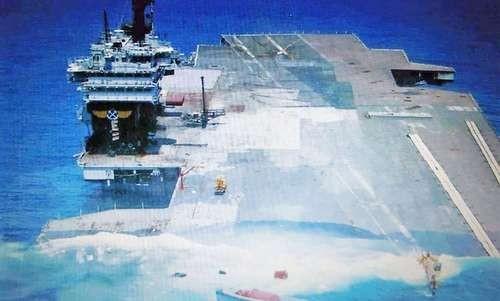 [ĐỒ HỌA] Sức mạnh siêu tàu sân bay duy nhất của Mỹ bị đánh chìm ảnh 2