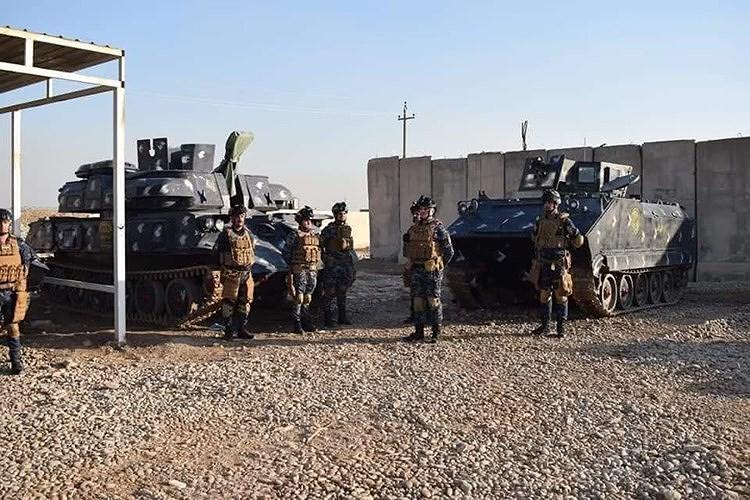 [Info] Tại sao cảnh sát Iraq lại được trang bị tổ hợp phòng không? ảnh 1