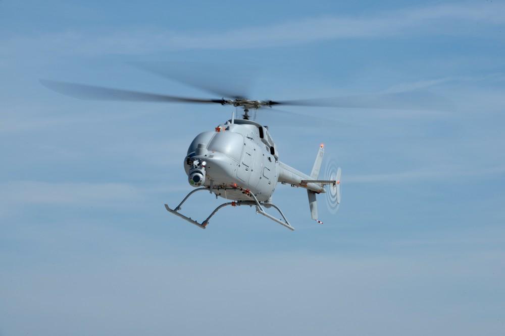 """[Info] Trực thăng không người lái - """"Chim lửa"""" MQ-8C đình cao của Mỹ chính thức ra mắt ảnh 1"""