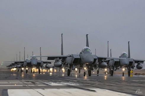 """[Info] Saudi Arabia mang """"kho tên lửa bay"""" F-15SA hủy diệt trả đũa phiến quân Houthi ảnh 1"""
