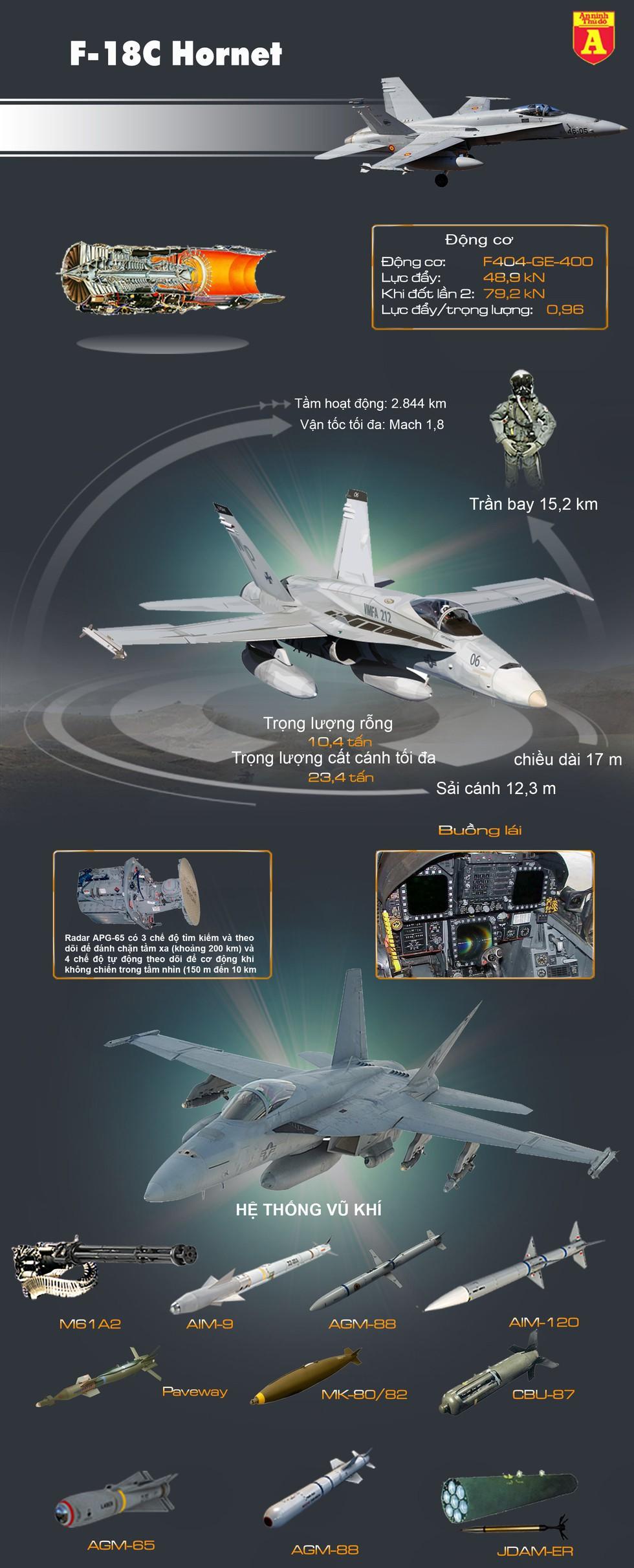 """[Info] """"Ong bắp cày"""" F-18 cuối cùng của Mỹ giã từ bầu trời, kết thúc khúc anh hùng ca ảnh 3"""