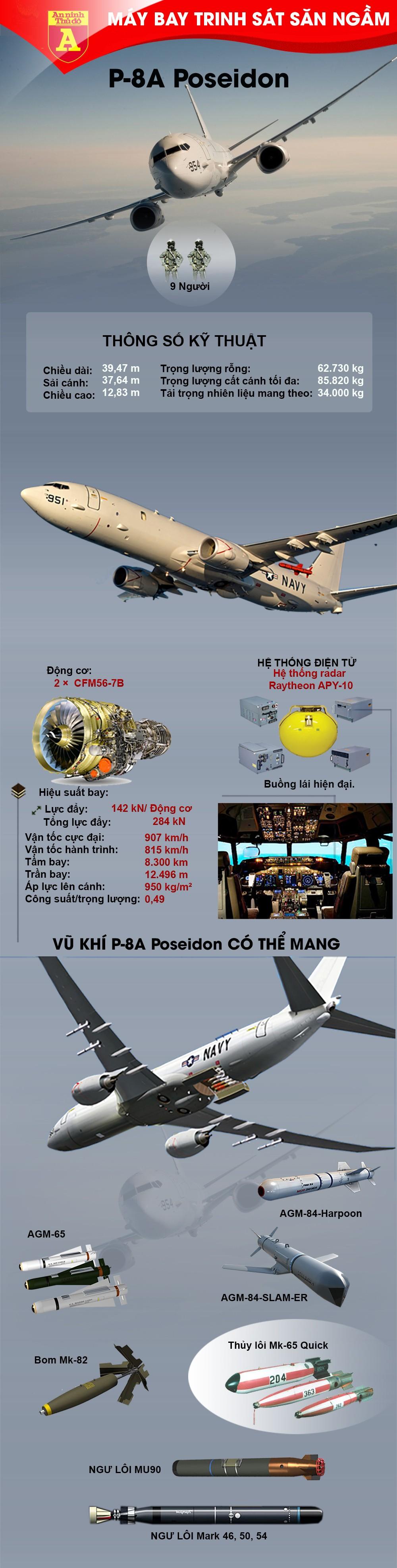 [Info] Mỹ bất ngờ điều máy bay săn ngầm mạnh nhất thế giới tới Biển Đông ảnh 2