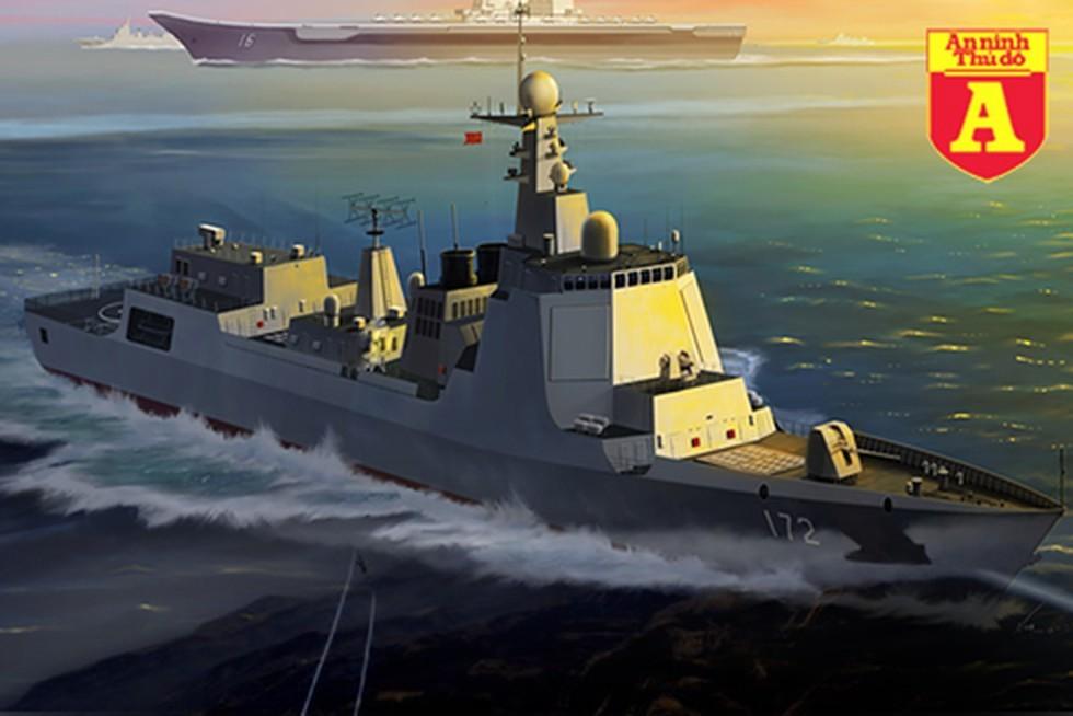 [Info] Chiến hạm mạnh nhất Trung Quốc thua đau nếu đối đầu Mỹ tại Biển Đông ảnh 2