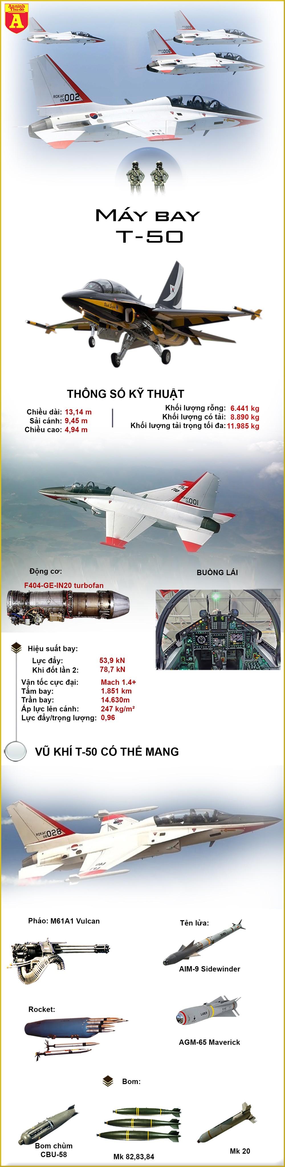 """[Info] """"Đại bàng vàng"""" T-50 cuối cùng đã vào biên chế không quân Iraq ảnh 2"""