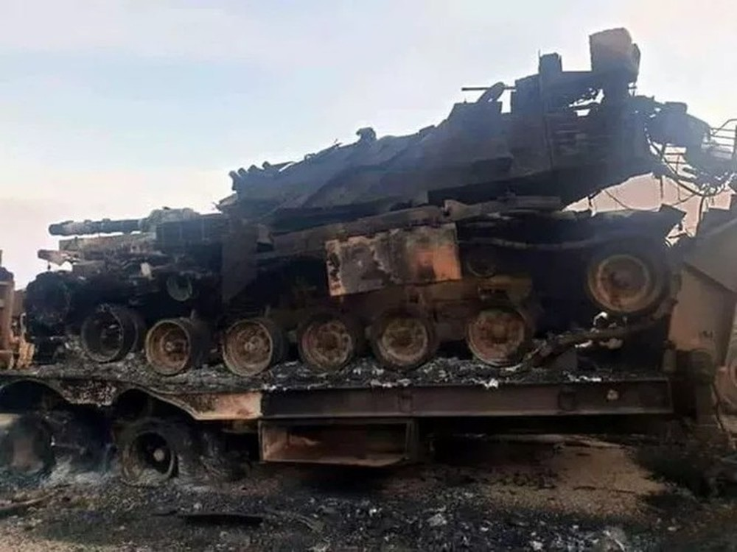 """[Info] Tên lửa Nga cấp cho Syria đặt """"dấu chấm hết"""" cho tăng thiết giáp Thổ Nhĩ Kỳ ảnh 2"""