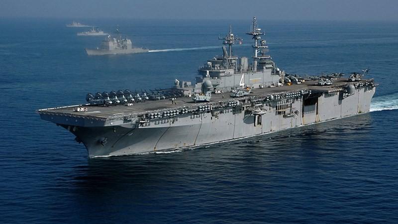[Info] Siêu tàu đổ bộ Mỹ có nguy cơ tê liệt vì Covid-19 ảnh 1