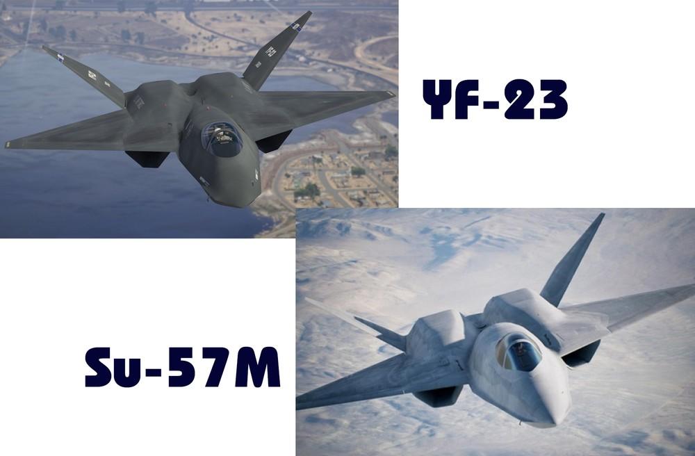 """[Info] Sức mạnh tiêm kích YF-23 của Mỹ biệt danh """"góa phụ đen"""" ảnh 2"""
