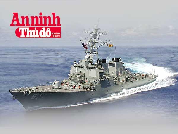 [Infographic] Sức mạnh khủng khiếp của khu trục hạm tên lửa Mỹ áp sát Hoàng Sa ảnh 1
