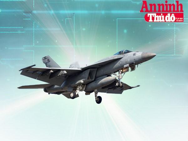[Infographic] Tiêm kích hạm hạng nặng mạnh nhất thế giới - Boeing F/A-18E/F Super Hornet ảnh 1
