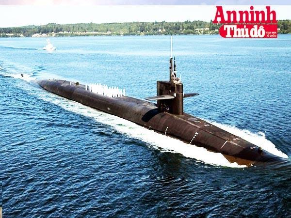 [Infographic] USS Ohio - Kho vũ khí hạt nhân khủng khiếp di động đến Biển Đông ảnh 1