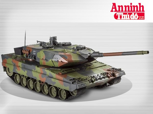 [Infographic] Leopard 2A6 ứng viên nặng ký tăng cường sức mạnh tăng thiết giáp Việt Nam