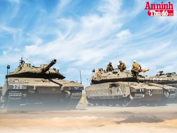 [Infographic] Merkava Mk-4 - Voi thép bất khả xâm phạm của Israel