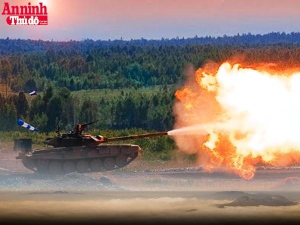 [Infographic] T-72B3M - Xe tăng chủ lực trong cuộc thi Tank Biathlon 2016