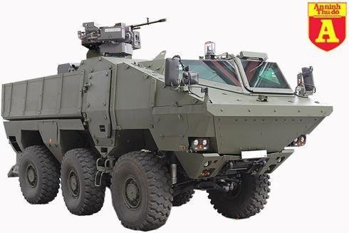 [Infographic] Typhoon MRAP-Siêu xe bọc thép chở quân mới nhất của Nga