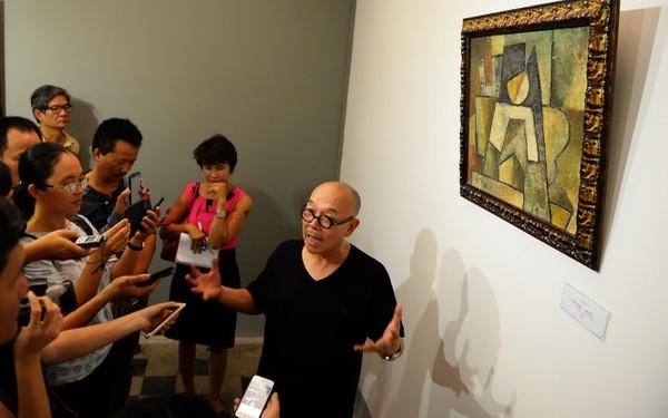 """Họa sỹ Thành Chương lên tiếng tố tranh giả tại triển lãm """"Những bức tranh trở về từ châu Âu"""""""