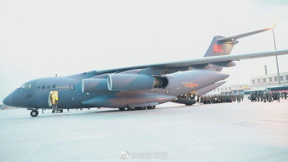 """[Info] Trung Quốc cho """"quốc bảo"""" Y-20 mang binh sĩ sang Nga thi đấu ảnh 1"""