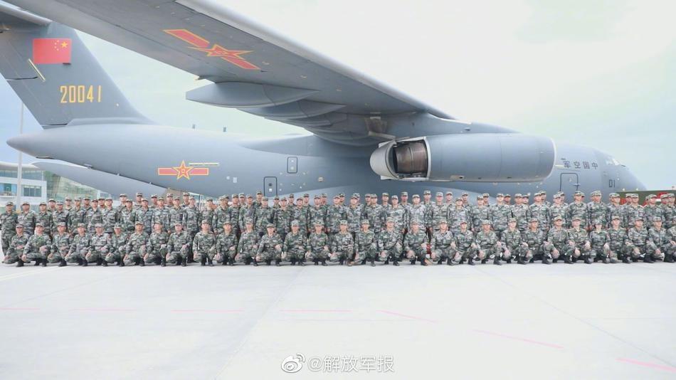 """[Info] Trung Quốc cho """"quốc bảo"""" Y-20 mang binh sĩ sang Nga thi đấu ảnh 2"""