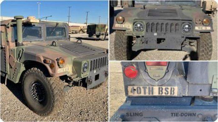 [Info] Humvee, dòng xe hay bị mất trộm nhất của quân đội Mỹ ảnh 2