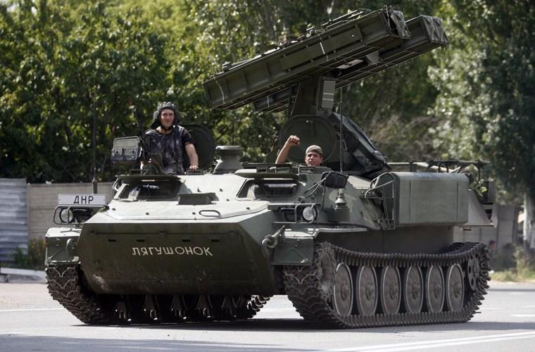 [Info] Trong tay dân quân miền Đông Ukraine có tên lửa phòng không cực nguy hiểm ảnh 1
