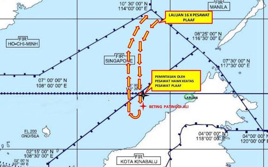 [Info] Máy bay vận tải nội địa khổng lồ Trung Quốc vừa bị Malaysia điểm mặt trên Biển Đông ảnh 2