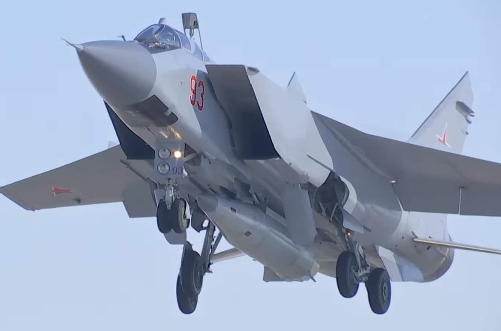 [info] MiG-31K Nga mang tên lửa Kh-47 tới Syria, động thái nhỏ ý nghĩa lớn ảnh 1