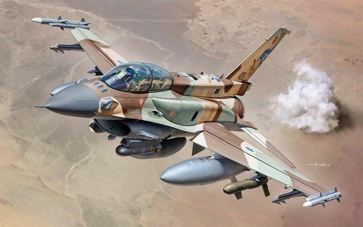 [Info] Tại sao F-16I lại trở thành máy bay chủ lực Israel trong không kích Syria ảnh 1