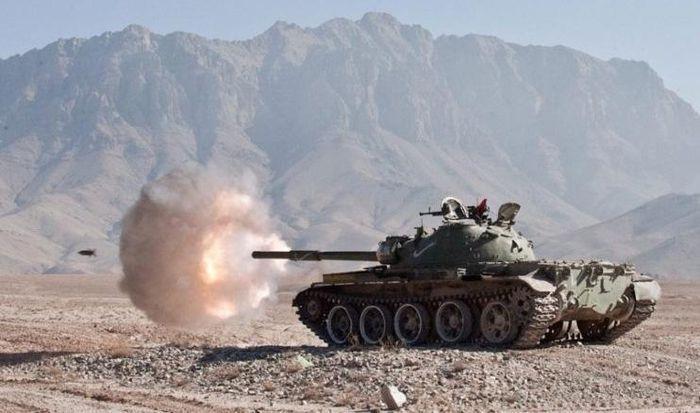 [Info] Vừa thu được từ Mỹ, thiết giáp hiện đại của Taliban đã bị T-62M bắn tan xác ảnh 2