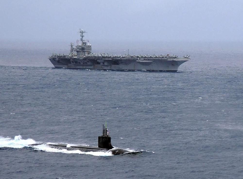 [Info] Siêu tàu ngầm hạt nhân mạnh nhất của Mỹ hỏng mũi sau vụ va chạm ở Biển Đông ảnh 1