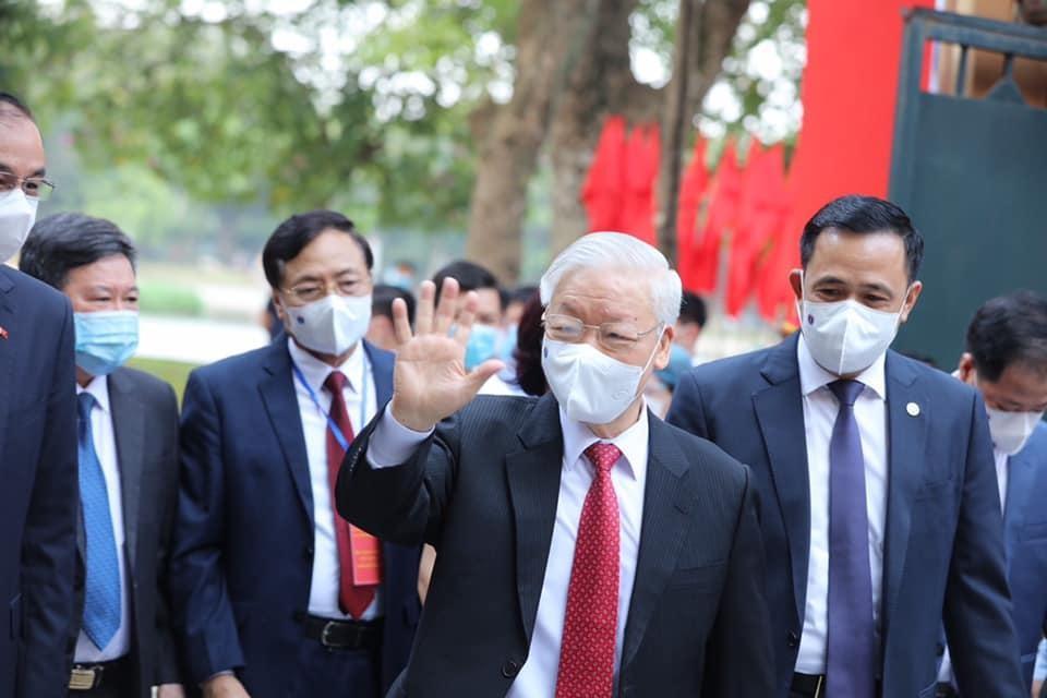 Tổng Bí thư Nguyễn Phú Trọng: Đất nước sẽ bước vào giai đoạn phát triển mới, đáp ứng nguyện vọng của cử tri ảnh 2