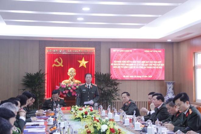 Bộ Tư lệnh Cảnh vệ và CATP Hà Nội ký kết quy chế phối hợp đảm bảo an ninh trật tự ảnh 4