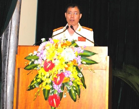 Đại tá Dương Văn Giáp được tín nhiệm bầu lại làm Bí thư Đảng ủy Phòng CSHS